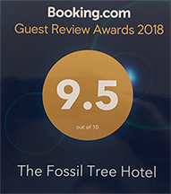 The Fossil Tree Hotel Blackpool 2018 Guest Review Award