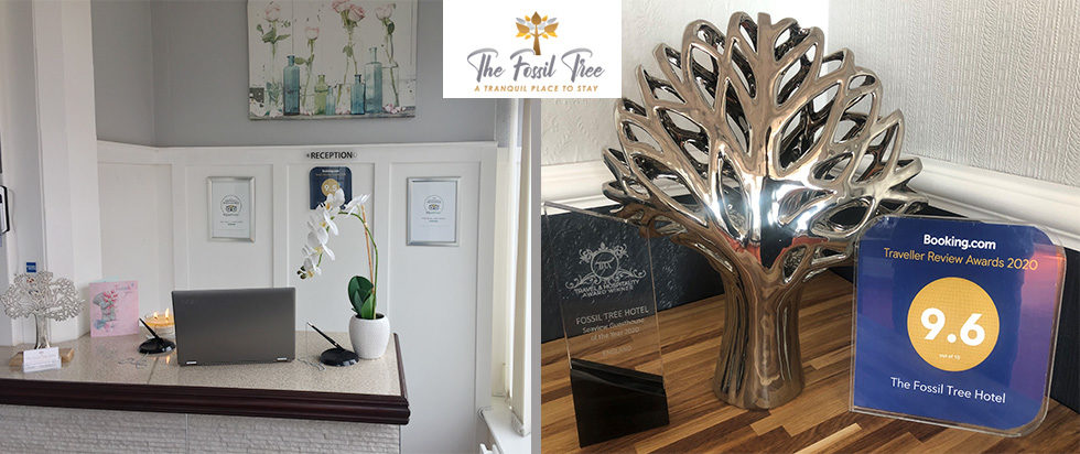 Reception Hotels Blackpool | The Fossil Tree