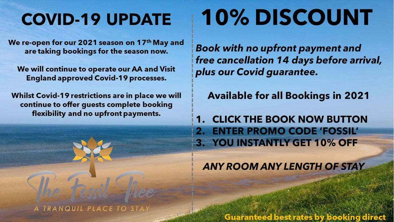 Covid Update and 10% discount
